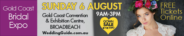 Grab Your Free Tickets to the Gold Coast Bridal Expo on 6th August!