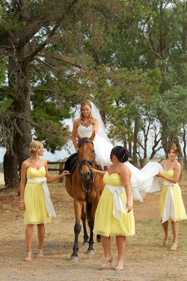 Country Bridal Party