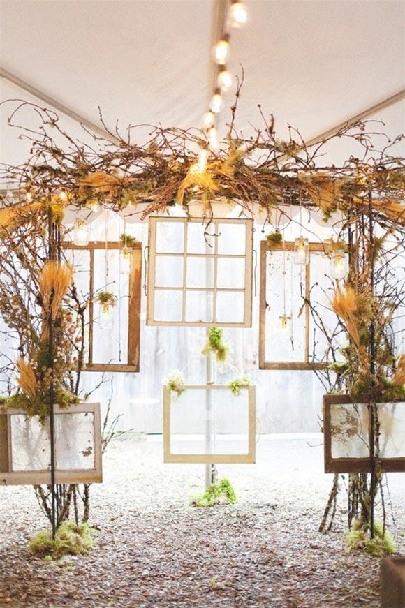 Alternative wedding altar