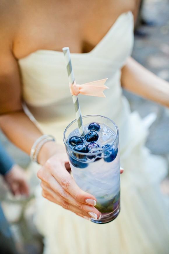 Wedding day signature drink