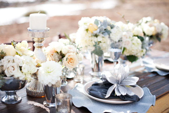 Grey options for your wedding day