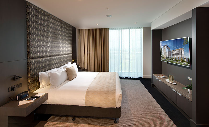 The Executive Suite at Pullman Brisbane Airport.