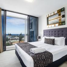 One bedroom apartment with a view at Ultra Broadbeach.