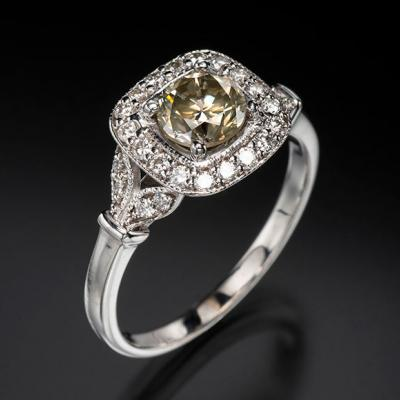 Beautiful coloured diamond from Arnold & Co. Jewellers