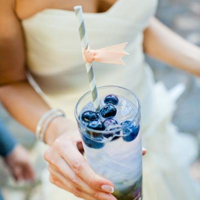 Wedding day signature drink