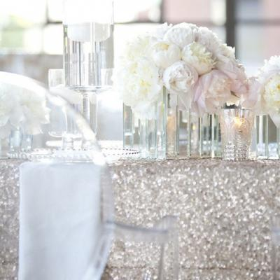 Silver wedding day ideas