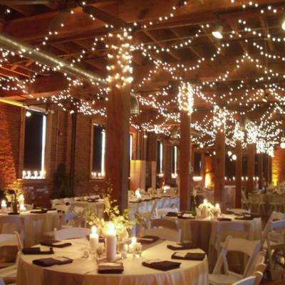 Beautiful lighting options for your wedding day