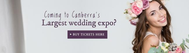 Coming to Your Local Wedding Guide's Canberra Expo banner